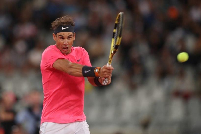 HUVITAV: Nadal liigub Federeri rekordi suunas
