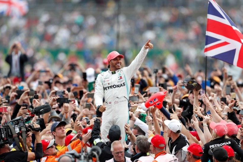 Uus leping lennutaks Lewis Hamiltoni enimteenivate sportlaste edetabeli esikümnesse