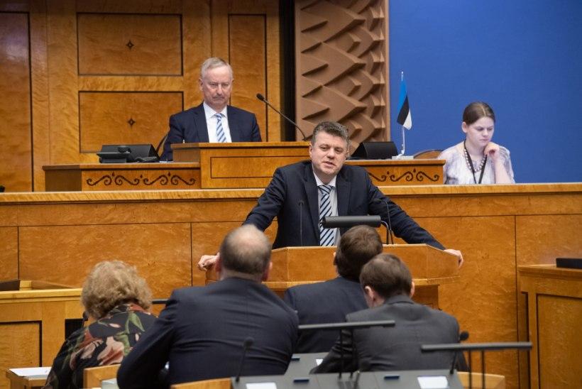 MinisterReinsaluaastakõnes: Eesti välispoliitika keskmes on meie rahvuslike huvide kaitsmine maailmas