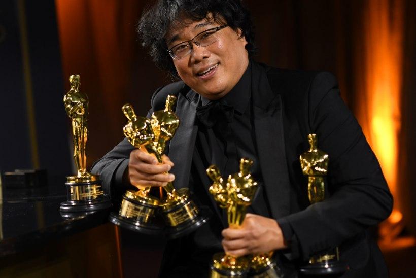"""Lõuna-Korea """"Parasiit"""" tegi Oscaritel ajalugu"""