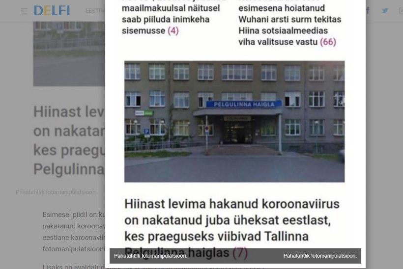 EKRE uudisteportaal jäi vahele valeuudise levitamisega