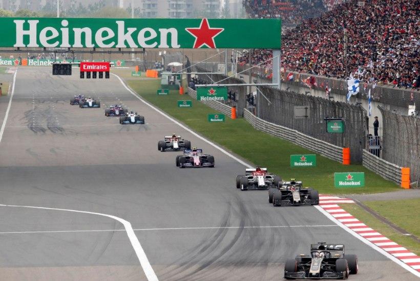 F1 sarja boss: koroonaviiruse tõttu ärajääva Hiina GP uuesti kavva mahutamine saab olema keeruline