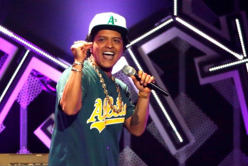 Bruno Mars sai rolli Disney uues mängufilmis