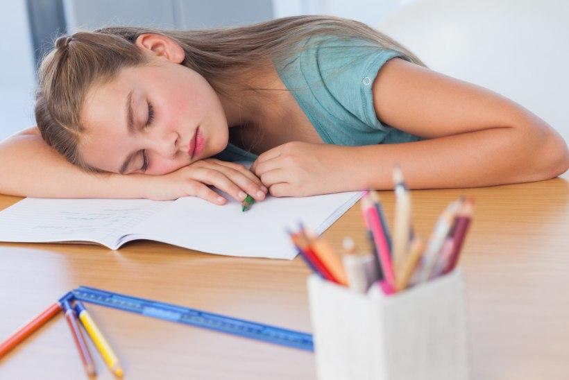 Töö kurnab õpilasi: keskööl saab koju, hommikul minnakse koolipinki magama