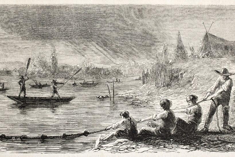 Kuidas vanasti jõest kala kätte püüti ehk Kust sai Sääsküla oma nime?