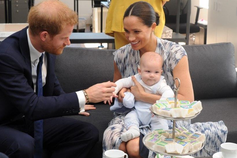 Meghan Markle ja prints Harry soovivad last veganina kasvatada