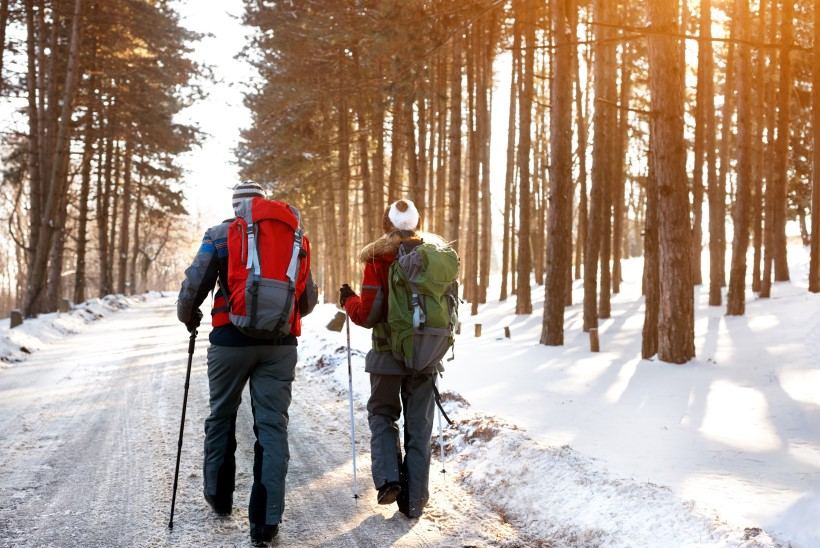 Päev talvises metsas: toitu arukalt ja hoia keha soojas