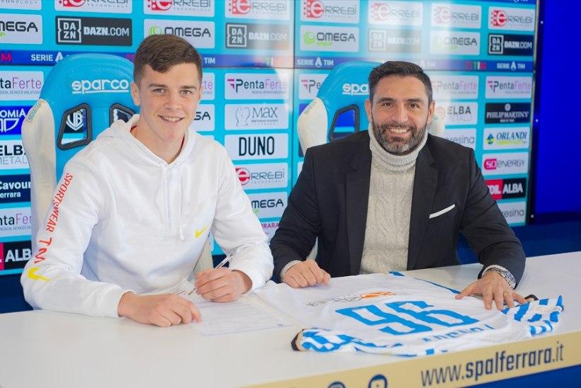 SUPER! Georgi Tunjov sõlmis Serie A klubiga profilepingu