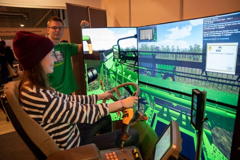 GALERII | Mitte ainult noortele: haridusmessil Intellektika annavad tooni simulaatorid