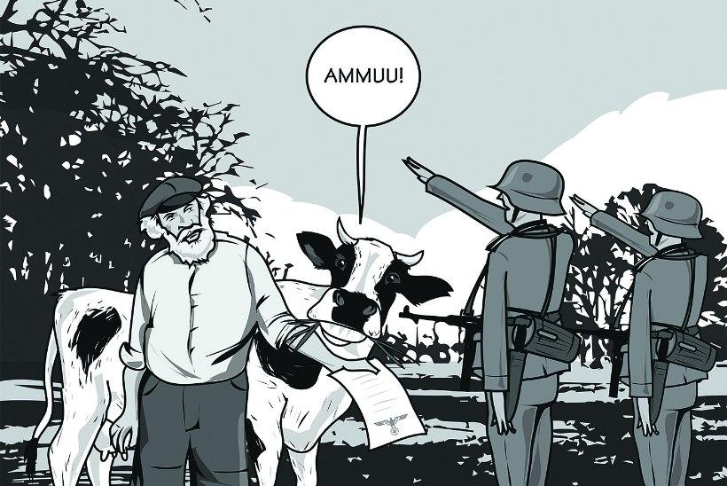 Rahvajutte: kuidas keelebarjäär pani sakslased Eesti talumehe ees kulpi lööma