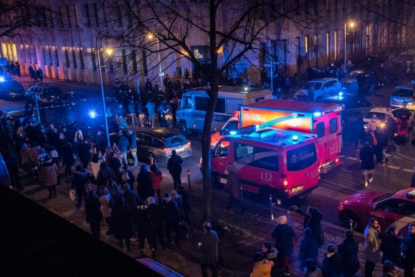 Tulistamine Berliini kontserdihoone juures: hukkus inimene, vigastada said veel neli