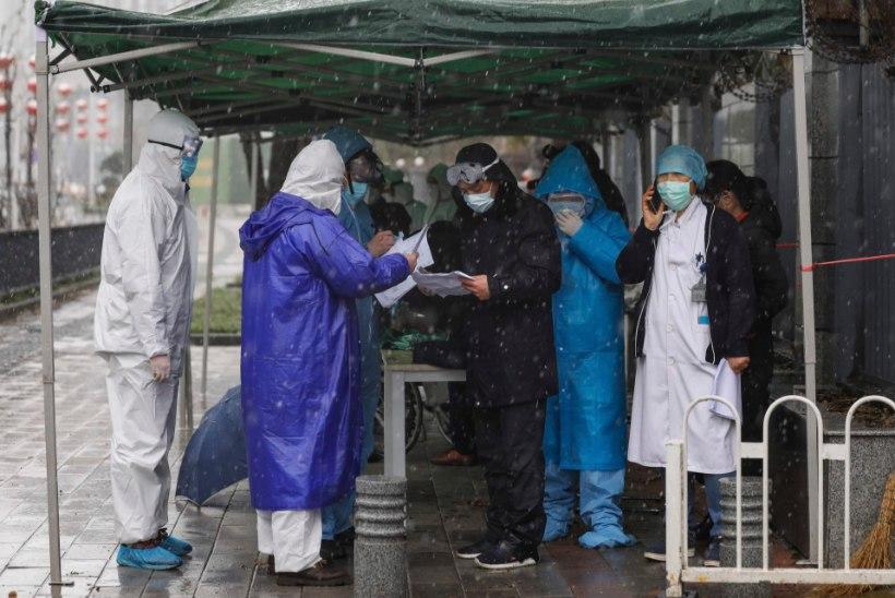 VÄRSKE INFO: uus koroonaviirus on võtnud elu ligi 1700 inimeselt, väljaspool Mandri-Hiinat on surnuid viis