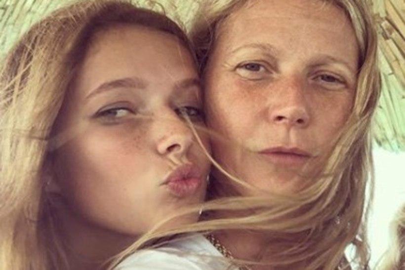 Tütar häbeneb Gwyneth Paltrow' pärast silmad peast