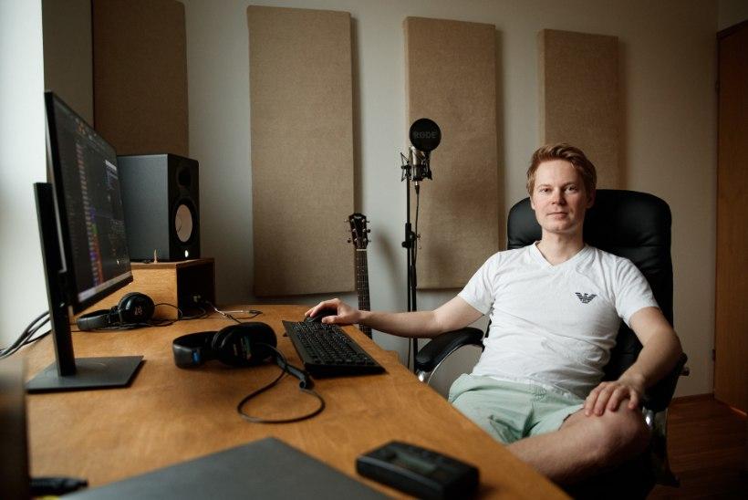 """Nelja looga """"Eesti laulu"""" finaali pääsenud Karl-Ander Reismann: ilma hea artistita pole heliloojal oma loominguga midagi teha"""