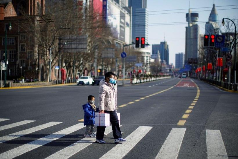 Hiina: uute koroonaviirusesse nakatunute arv väheneb
