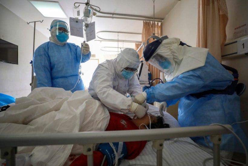 UUE KOROONAVIIRUSE LEVIK: 1875 surnut  ja üle 73 000 haigestunu. Viirus tapab peamiselt eakaid
