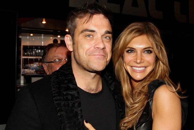 RÕÕMUSÕNUM: Robbie Williams ja Ayda Field said neljanda lapse