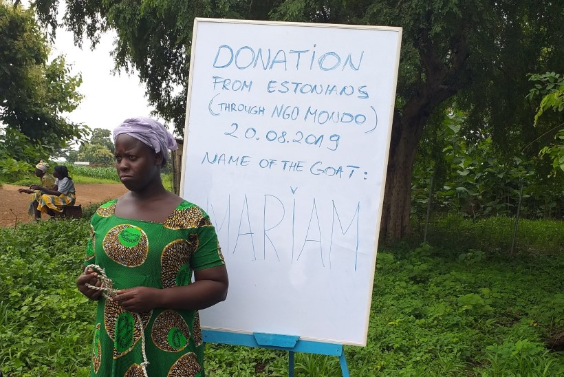 """Aafrikas vabatahtlikuna käinud Marge: """"Tundsin Ghana naisi vaadates vahel kadedust."""""""