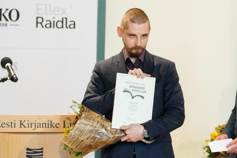 Suri kirjanik Märt Laur