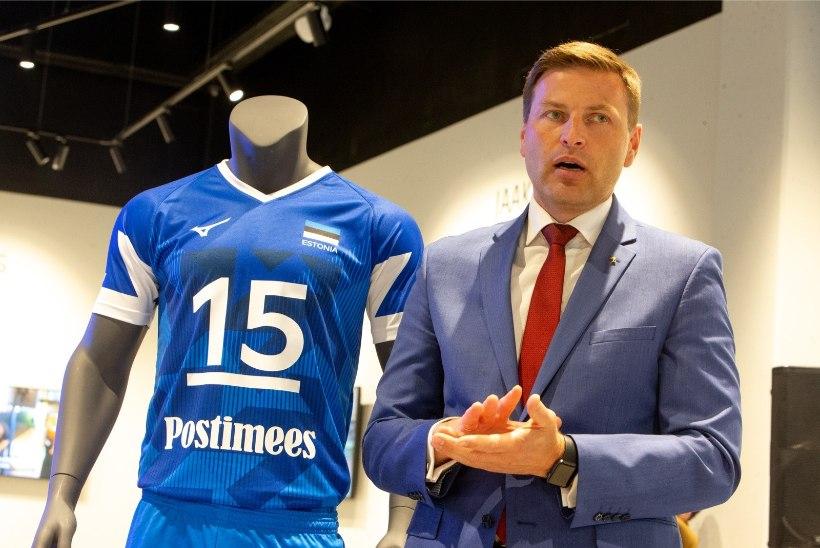 Hanno Pevkur kandideerib Euroopa võrkpalliliidu presidendiks