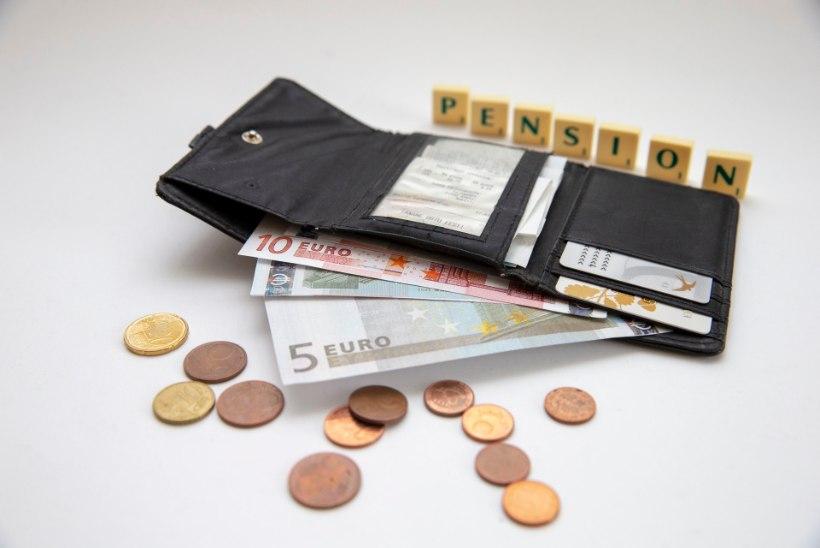 Vanaduspension tõuseb tänavu keskmiselt 45 eurot