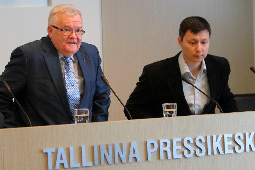 FOTOD | HÜVASTI, SAVISAARE PÄRAND! Tallinna võimuladvik kolis Solarise keskusest tagasi linnavalitsuse majja