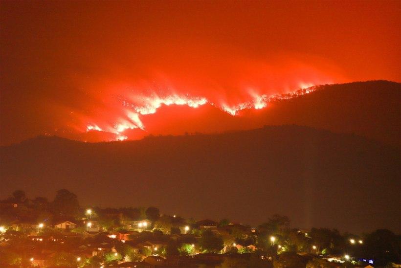 Maastikupõlengud ähvardavad juba Austraalia pealinna