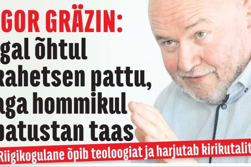 """VAIMULIKUEKSAM TEHTUD! Igor Gräzin pihib: """"Ma teen iga päev kõrkuse ja edevuse pattu!"""""""