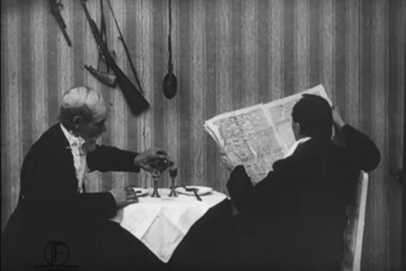 Sel nädalal ajaloos: … esilinastus Eesti esimene mängufilm