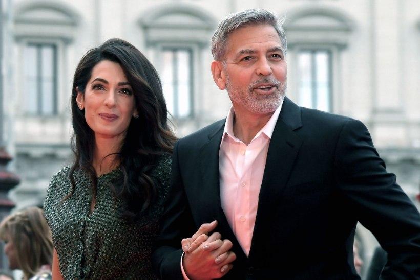 George ja Amal Clooney 14 miljoni eurost häärberit ähvardab üleujutus