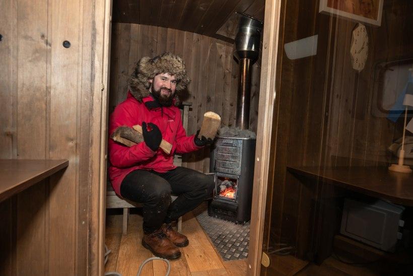 Noor mees täitis oma vanaisa unistuse: kolis Eestisse ja hakkas saunakultuuri edendama