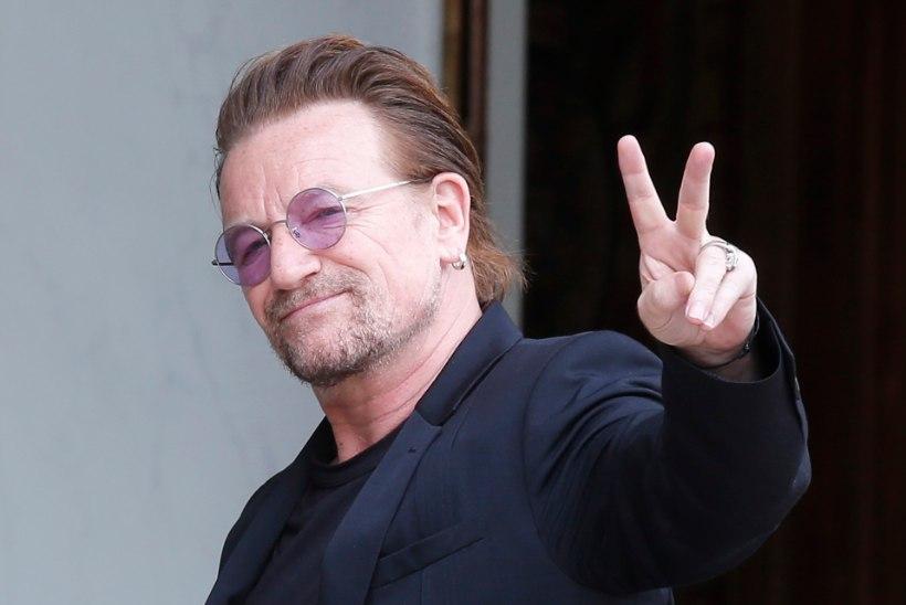 VIDEO | Bono 20aastane poeg on tõusev rokitäht