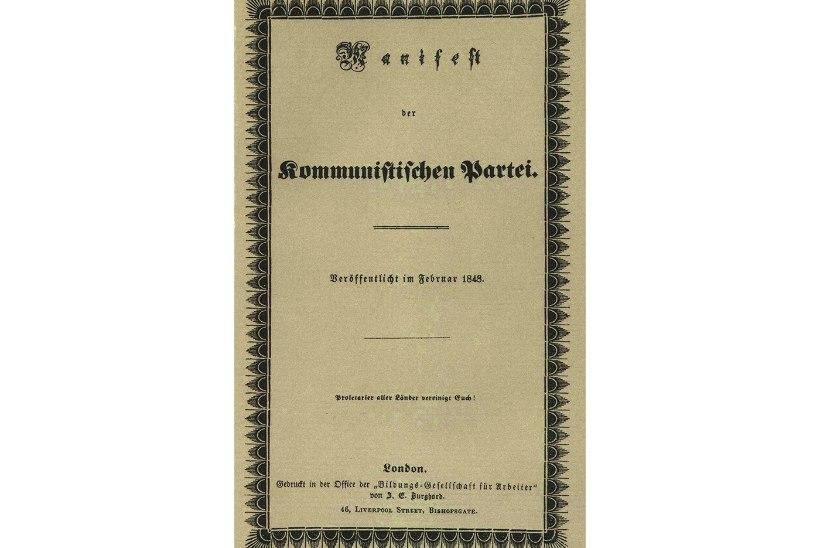 MINEVIKUHETK   21. veebruar: Londonis ilmus Karl Marxi kommunistlik manifest
