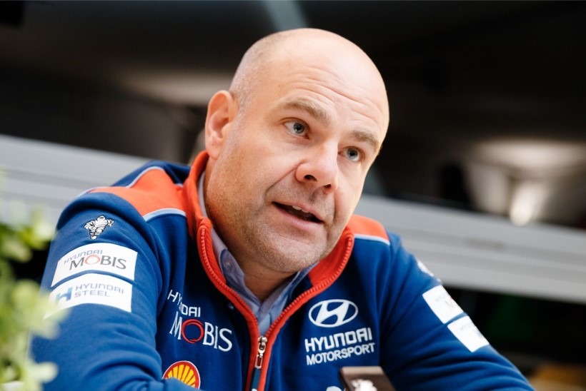 Hyundai boss Adamo soovib, et Rootsi ralli jääks kalendrisse: olen vanem mees ja armastan traditsioone