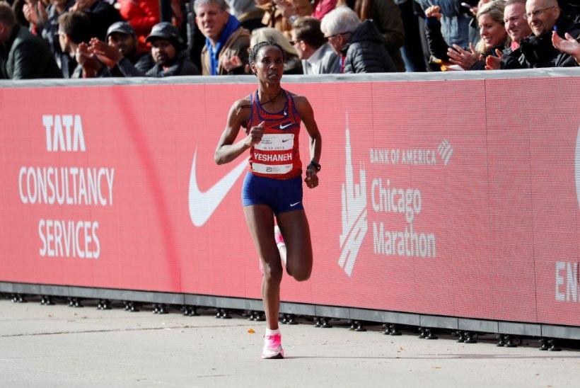 IMETOSSUD AITASID TAAS! Etiooplanna purustas poolmaratoni ilmarekordi