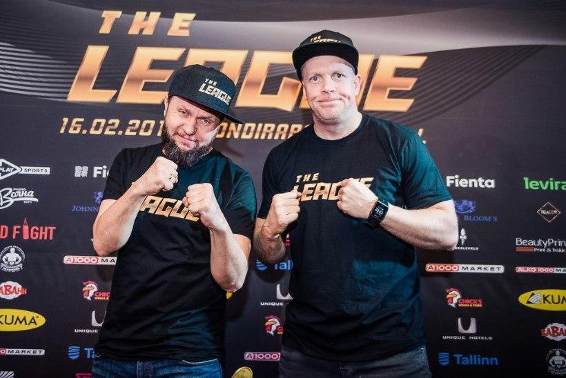 Läheb tuliseks andmiseks - võitlusspordigalat The League juhivad Cool D ja Kozy