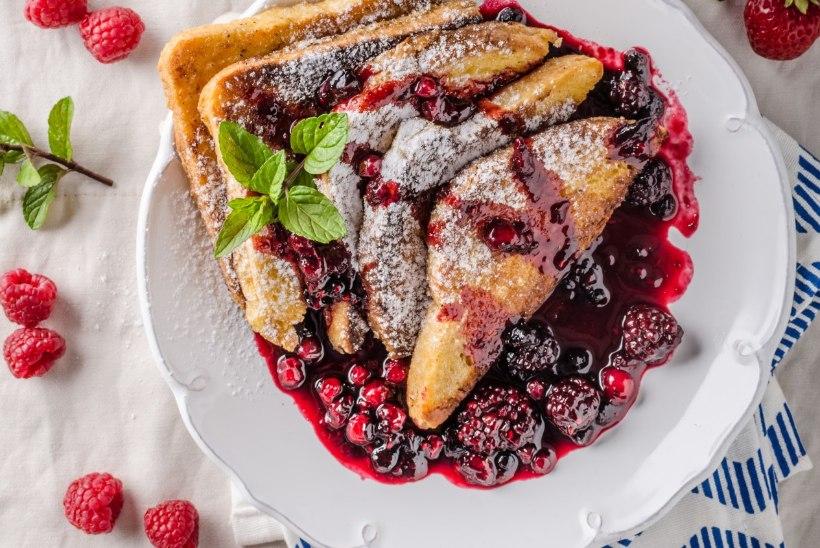 EVELIN ILVESE KOKAKOOL   Vanaema magusad hommikusaiad ehkFrench Toasts*