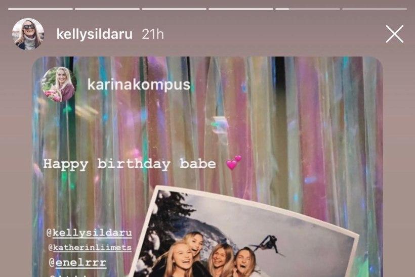 FOTOD   Kelly Sildaru tähistas täisealiseks saamist raju peoga!