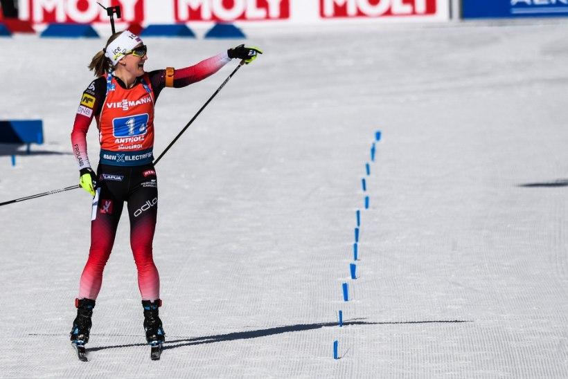 Laskesuusakuninganna Röiseland! Norralanna võitis pinevas võistluses oma viienda MM-kulla