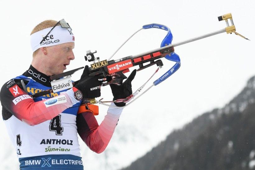 LASKESUUSATAMISE MM   Puhtalt lasknud Johannes Thingnes Bö võttis kindla võiduga kümnenda kuldmedali