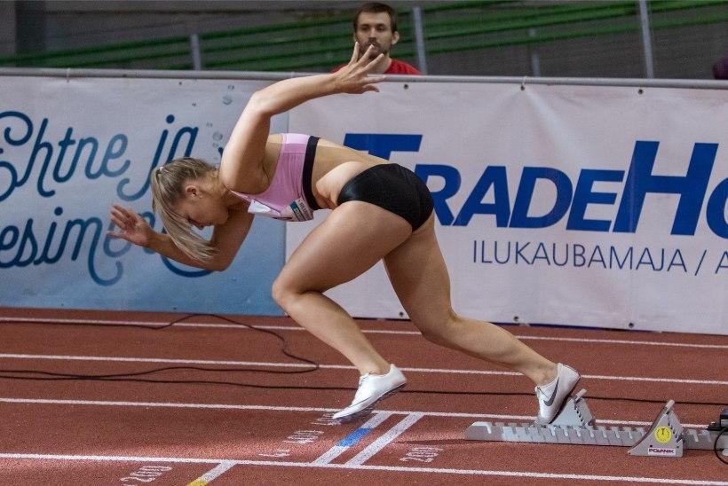 GALERII | Balta vormistas võidu, Võro jooksis taas rekordi, jaapanlane Tobe hüppas väga kõrgele