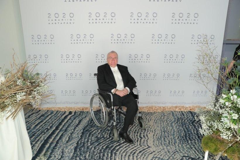 ÕL VIDEO | Edgar Savisaar lootis presidendi vastuvõtule tulla ratastoolita: praegu istun küll arvuti taga kahel jalal