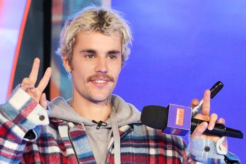 Justin Bieber purustas Elvis Presley rekordi