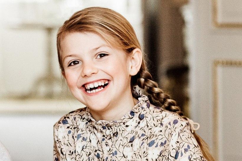 PALJU ÕNNE! Tulevane Rootsi kuninganna sai 8aastaseks
