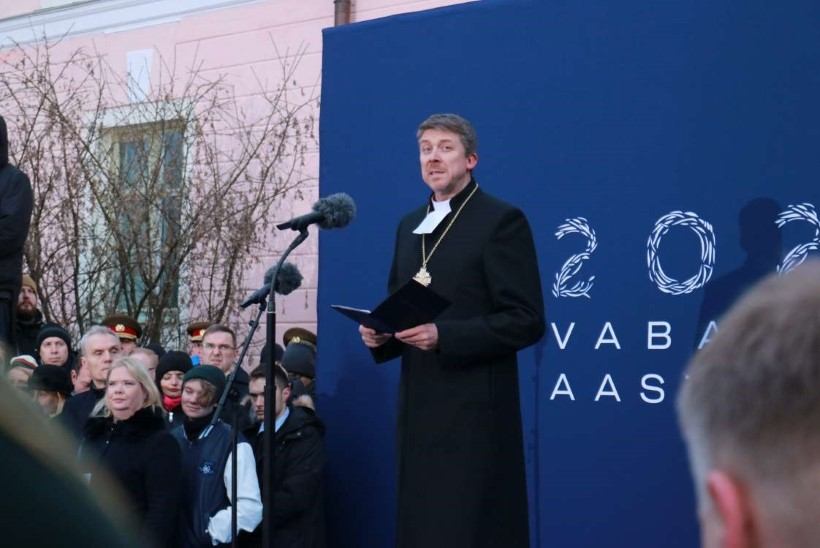 Peapiiskop Urmas Viilma: lipukanga lehvimine on kui Eesti sõbralik silmapilgutus meile kõigile