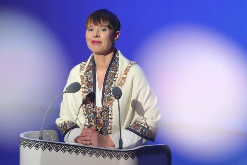 """President Kersti Kaljulaid: """"On olnud haiget tegemise aasta."""""""