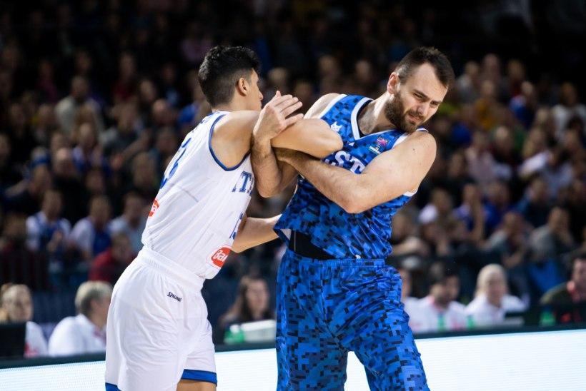 Eesti korvpallikoondis liigub kaotuse kiuste õiges suunas