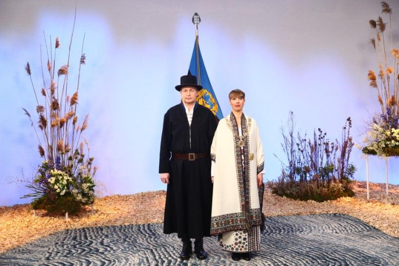 PILTUUDIS   Presidendipaari tänavused rõivad on inspiratsiooni saanud 18. sajandi Mulgimaa rahvarõivakomplektidest