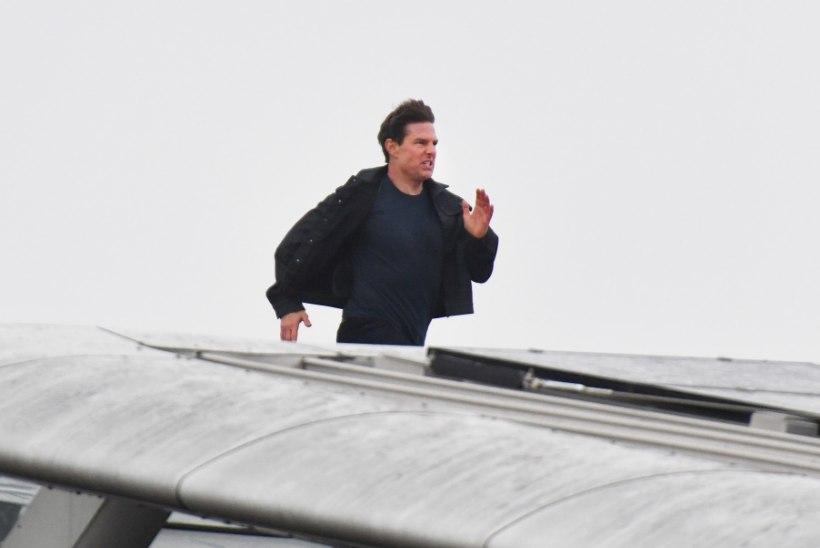 """Tom Cruise evakueeriti, uue """"Võimatu missiooni"""" tulevik ohus"""