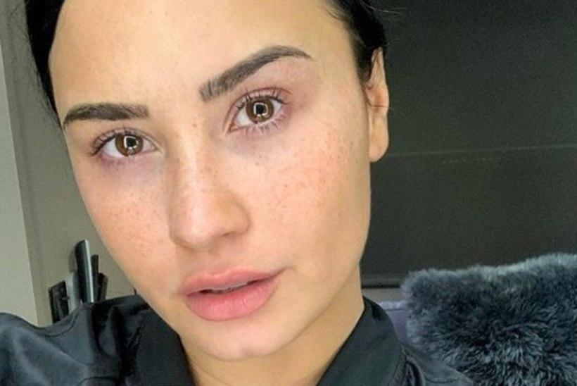 Demi Lovato paljastas fännidele, milline ta tegelikult välja näeb